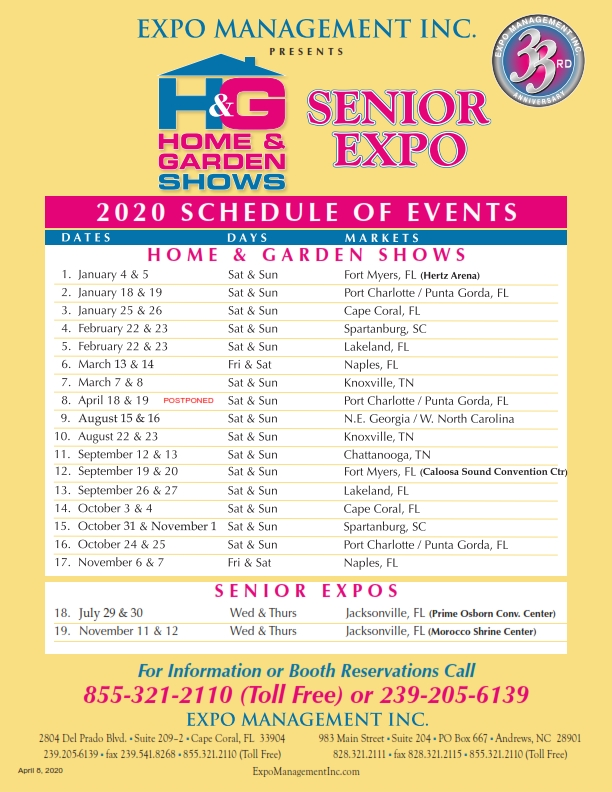 2020 Schedule of Events_001